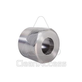 Rozsdamentes acél védőburkolat fúvókához