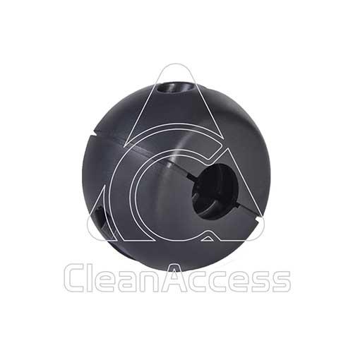 Tömlő megállító gömb