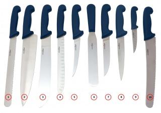 Fémdetektálható Kés